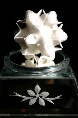 Michaella Janse Van Vuuren: 'Clover flower', 2008 Other Sculpture, Abstract.
