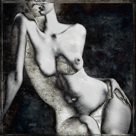 Michael Regnier: 'Curvy Woman', 2008 Other Photography, nudes. Artist Description:  Prints are archival pigment on acid free cotton rag paper utilizing the latest fine- art digital print making techniques, and printed personally by me. ...