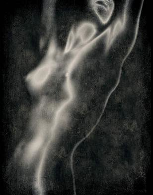 Color Photograph by Michael Regnier titled: Nude Reaching, 2010