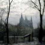 Prague Castle View From Zeyers Park, Michael Regnier