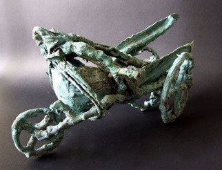 Michal Staszczak: 'Pegasus', 2008 Bronze Sculpture, Abstract.  It's one piece from my Pegasus series. ...