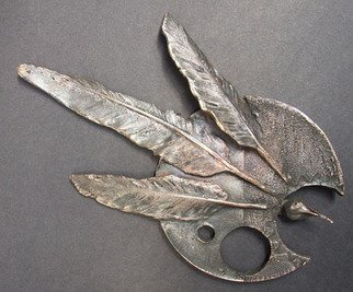 Michal Staszczak Artwork Sparrow, 2008 Bronze Sculpture, Abstract
