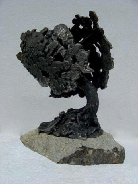 Michal Staszczak  'Iron Tree', created in 2005, Original Sculpture Bronze.
