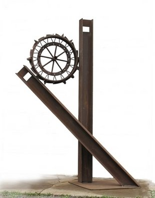 Michelle Vara: 'IH Acumen', 2011 Mixed Media Sculpture, Visionary.   Public art, Large Out Door Metal Sculpture.   ...