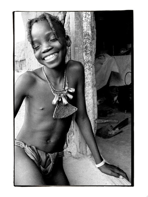 Michael Prochnik  'Beautiful Smile', created in 1999, Original Photography Black and White.