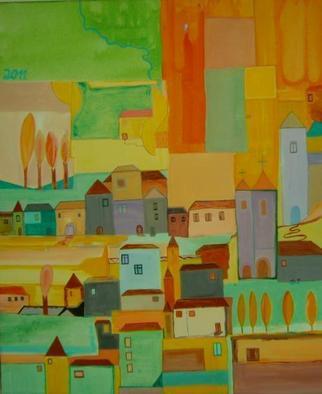 Artist: Michael Puya - Title: Toskana Meine Liebe - Medium: Acrylic Painting - Year: 2011