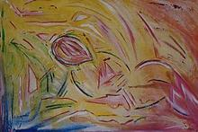 - artwork Verletzte_Frau_ruhend-1003506466.jpg - 2001, Painting Acrylic, Figurative