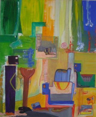 Artist: Michael Puya - Title: die 5 lagernden kamele - Medium: Acrylic Painting - Year: 2011