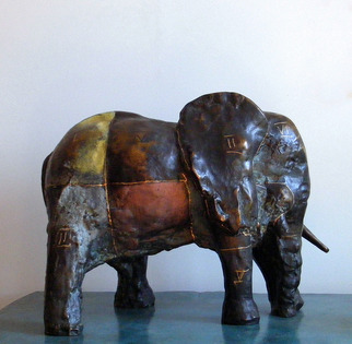 Mihail Simeonov Artwork Castg the Sleeping Elephant, 1983 Castg the Sleeping Elephant, Animals