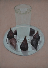 - artwork Figs_and_water-1319914014.jpg - 2009, Painting Tempera, Still Life