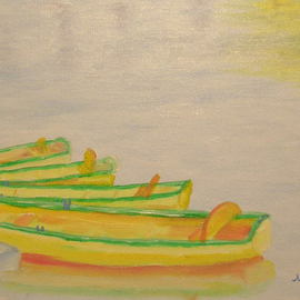 Rowboats By Mike Carr