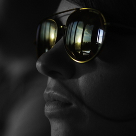 Michael Gatch Artwork Aviator Sunset, 2008 Other Photography, Portrait