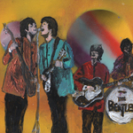 beatles psychedelic By Mike Cicirelli