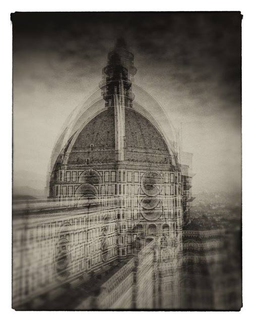 Milan Hristev  'The Duomo In Florence', created in 2008, Original Photography Silver Gelatin.