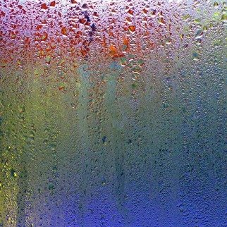 Anna Miller: 'Rain 3', 2010 Color Photograph, Abstract Landscape.    rain, drops, abstract, impression   ...