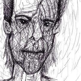 Amimra Mimura Artwork Chet Baker or what Soul blows in the Soul of the artist , 2014 Other Drawing, World Culture