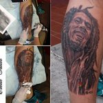 Bob Marley tattoo By Minh Hang