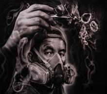 - artwork Portrait_1-1358804362.jpg - 2013, Painting Ink, Figurative