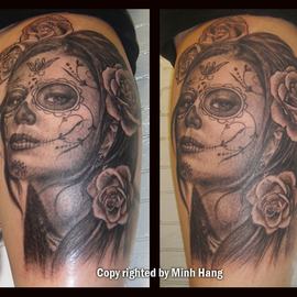 Portrait Tattoo By Minh Hang