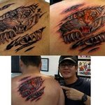 Tiger tattoo By Minh Hang