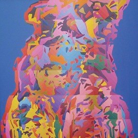 Miodrag Misko Petrovic: 'Aphrodite 7', 2006 Oil Painting, Nudes. Artist Description:  No description ...