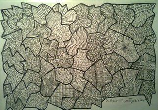 Miodrag Misko Petrovic Artwork Labirint, 2014 Labirint, Abstract
