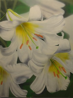 Artist: Gary Mishko - Title: White Delight - Medium: Acrylic Painting - Year: 2010