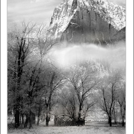 Russell Hansen: 'Longs Peak In Winter', 2006 Black and White Photograph, Mountains. Artist Description:  Longs Peak, Rocky Mountain National ParkColorado  Poster can have the name of the artist on the bottom . . . or not ...