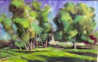Artist: Hari Mitrushi - Title: landscape - Medium: Oil Painting - Year: 2007