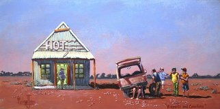 Michael Jones: 'Experts and Comedians', 2014 Acrylic Painting, Holidays. Artist Description:  fishing holidays        ...