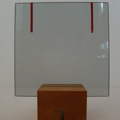 , Glass With Red Lines, Minimalism, Request Price