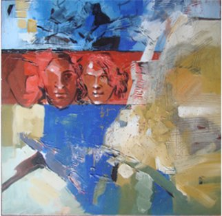Kaiser Kamal Artwork comp 2, 2008 Mixed Media, Abstract Figurative