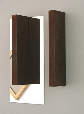 Miroslav Pavlovic Artwork mirror and steel, 2007 Other, Abstract