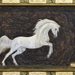, White Arab Horse, Animals, $4,148