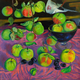 Apples By Moesey Li
