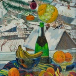 Christmas still life By Moesey Li