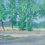 Poplars in Anapa By Moesey Li