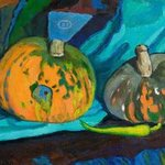 Pumpkins and peppers By Moesey Li