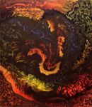 Artist: Noel Stavropoulos, title: Depth of Soul, 2006, Painting Oil