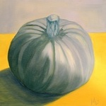 Blue squash By Marilia Lutz