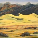 Death Valley Dunes By Marilia Lutz