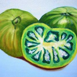 Green Tomatoes By Marilia Lutz
