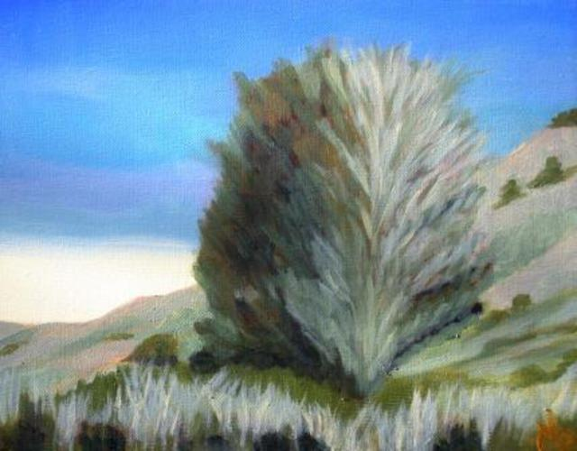 Artist Marilia Lutz. 'Landscape ' Artwork Image, Created in 2012, Original Painting Oil. #art #artist