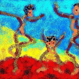 Fijan Family Dancing, Monica Malbeck