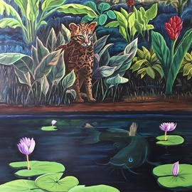 cat fish  By Monica Puryear