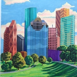 houston  By Monica Puryear