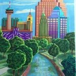 san antonio By Monica Puryear