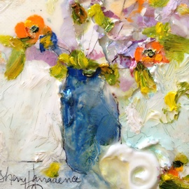 Sherry Harradence Artwork Creative Express, 2013 Acrylic Painting, Floral