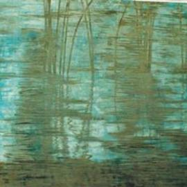 Guy Octaaf Moreaux Artwork Reeds, 1996 , Nature