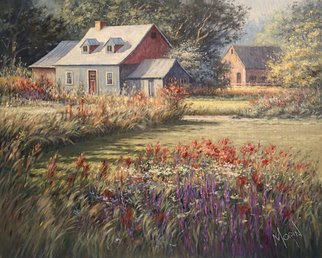Artist: Pierre Morin - Title: Sweet Summer Day - Medium: Oil Painting - Year: 2014